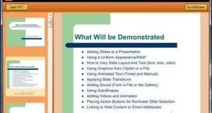 تحميل برنامج PowerPoint Viewer