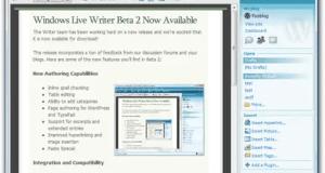 تحميل برنامج Windows Live Writer