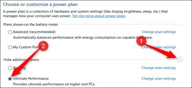كيفية يمكنك تفعيل وضع الاداء الفائق في نظام التشغيل Windows 10