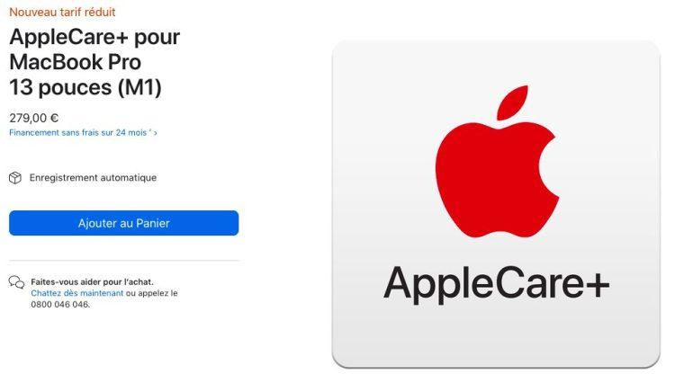 [HOT] : AppleCare+ Preis für MacBook Air und MacBook Pro M1 reduziert