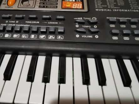 Tastiera Pianoforte per Bambini TWFRIC 61 tasti