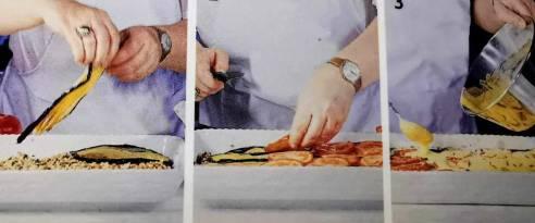 Tortino di carne e melanzane al microonde
