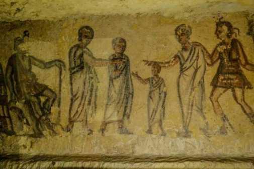 Tarquinia, borgo e necropoli etrusche nell'Alto Lazio