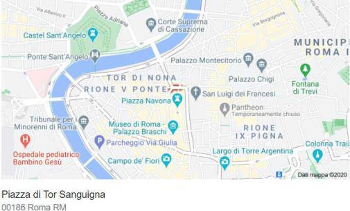 Piazza Navona a Roma in stile barocco