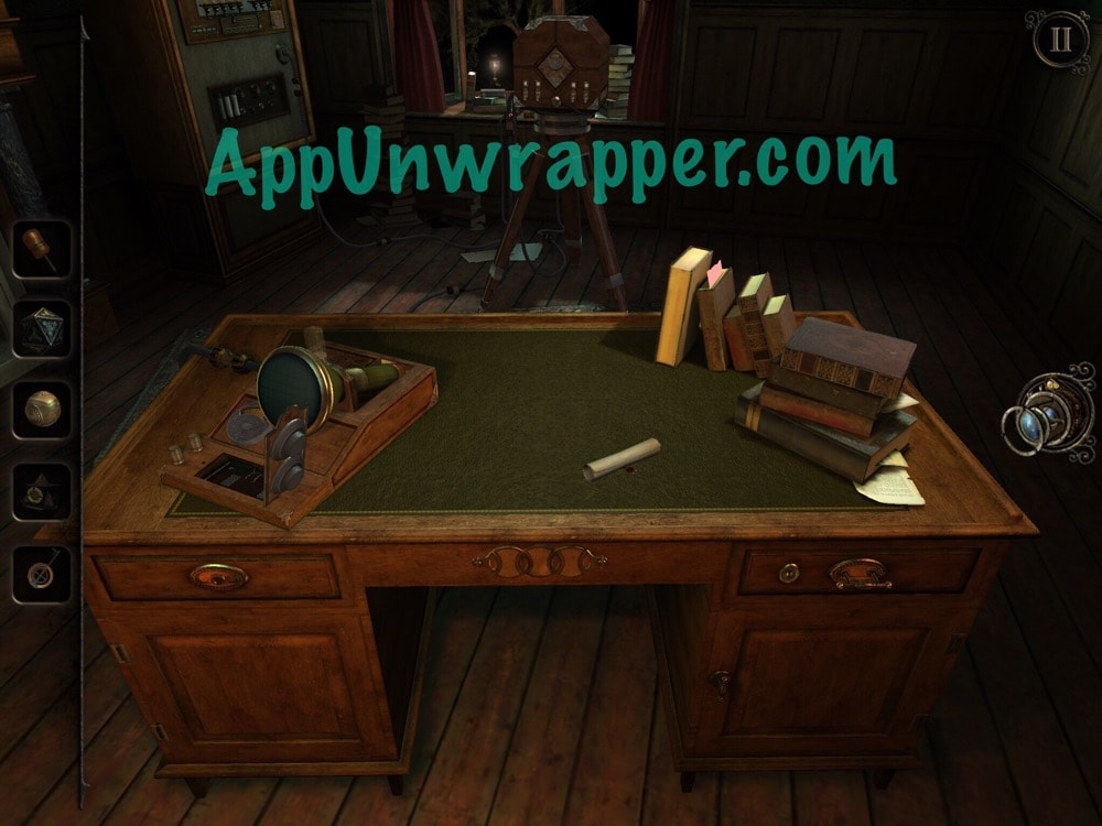 A Small Mechanism Room  The Fortune Teller