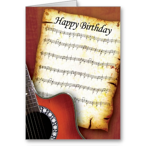 Happy Birthday Wishes Musician