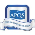 I'm a proud APQS longarm quilter
