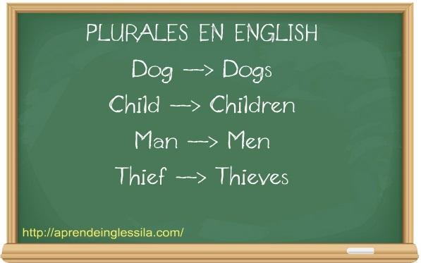 plural en inglés