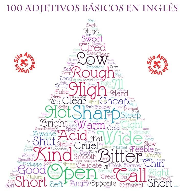 100 adjetivos en inglés que deberías conocer (+PDF y pronunciación)