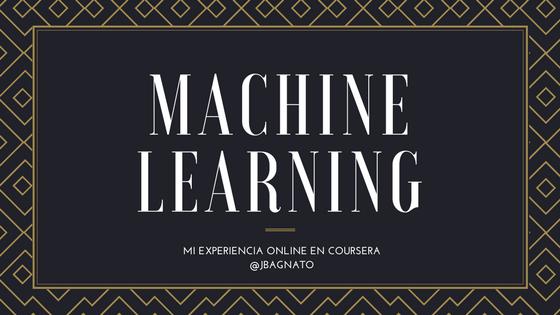 Review curso online Aprendizaje de Máquina Coursera