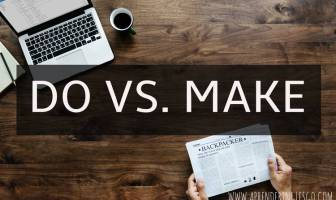 do vs make