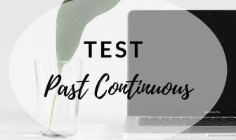Test Past Continuous - Ejercicios para practicar