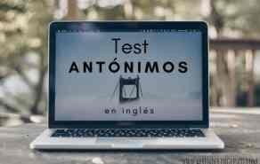 test antónimos en inglés