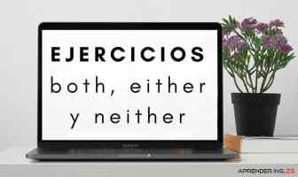 Ejercicios BOTH, EITHER y NEITHER