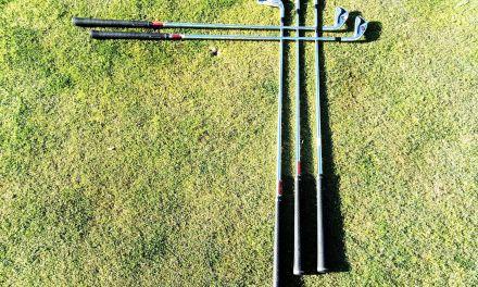 Las partes del palo de golf