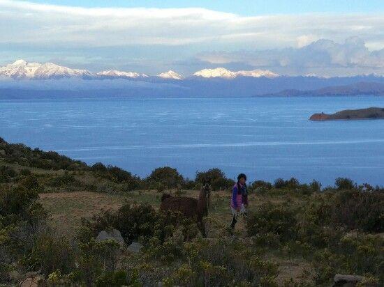 lago titicaca donde esta
