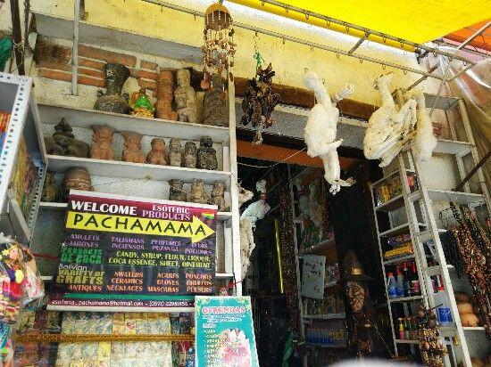 mercado brujas la paz