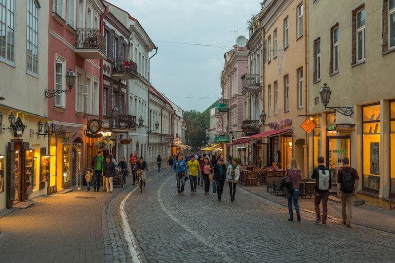 vilnius capital de lituania