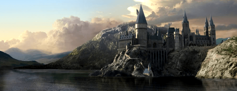 donde filmo castillo hogwarts