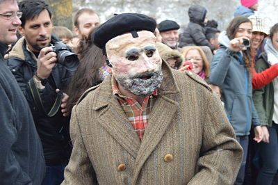 la vijanera Cantabria carnaval invierno