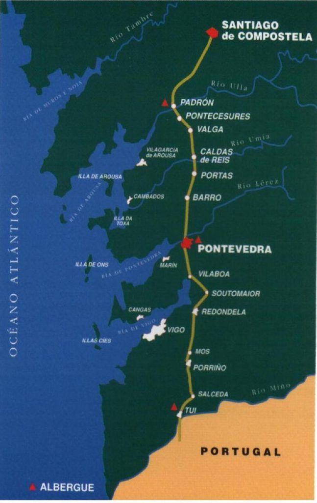 que es el camino portugues