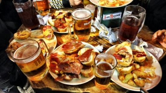 restaurantes donde comer barato en Madrid