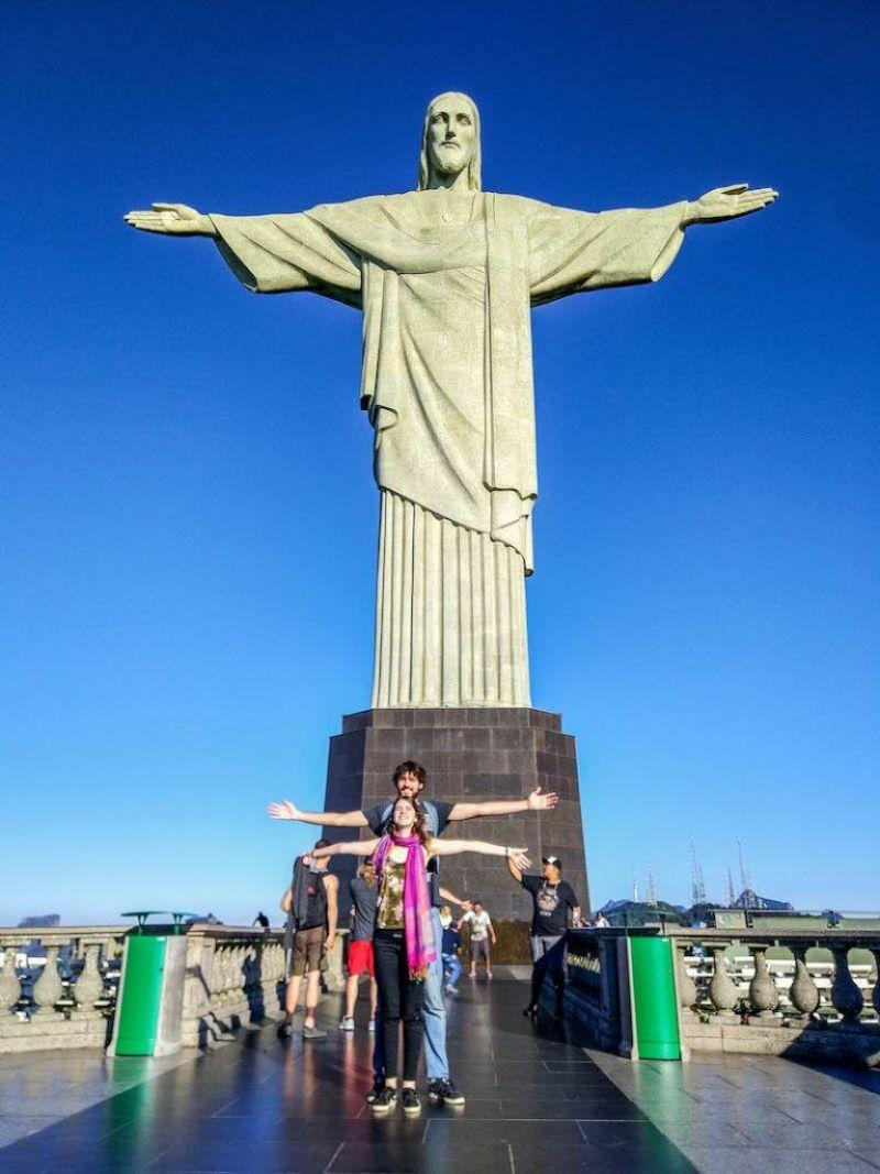 como subir al cristo de corcovado rio de janeiro brasil
