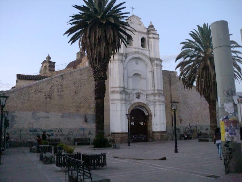 mapa lugares turisticos cochabamba
