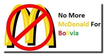 mcdonalds bolivia 2016