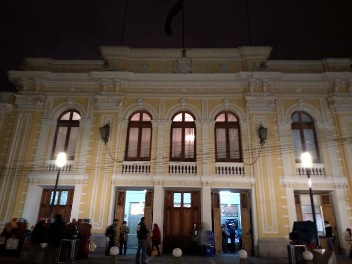 teatro municipal la paz