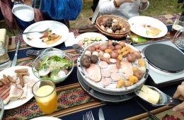 comer en La Paz