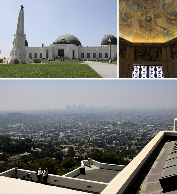 Griffith Observatory em Los Angeles