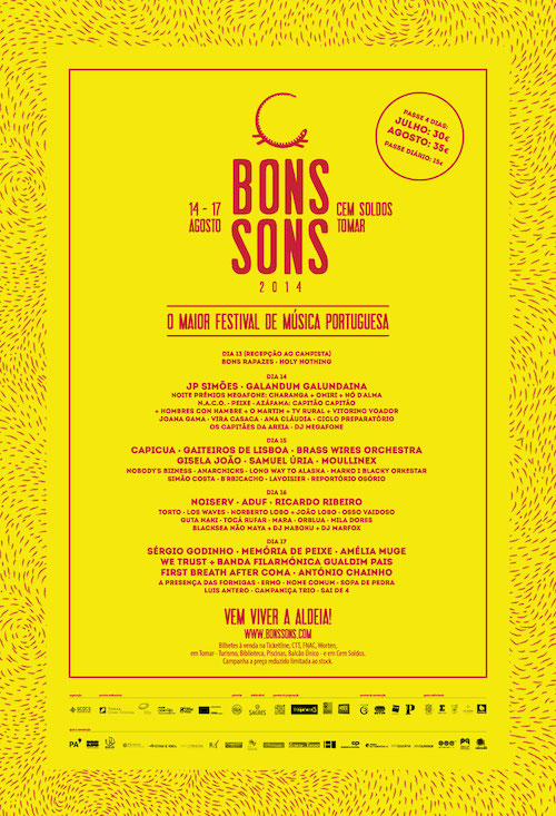 Bons Sons 2014
