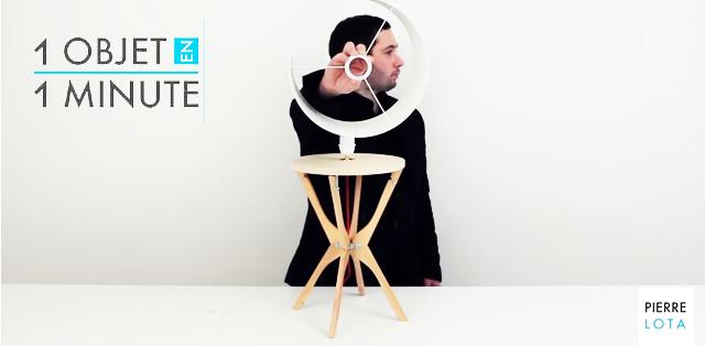 1 objet en 1 minute - Pierre Lota