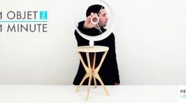 [ 1 Objet en 1 Minute ] Pierre Lota et le design en DIY