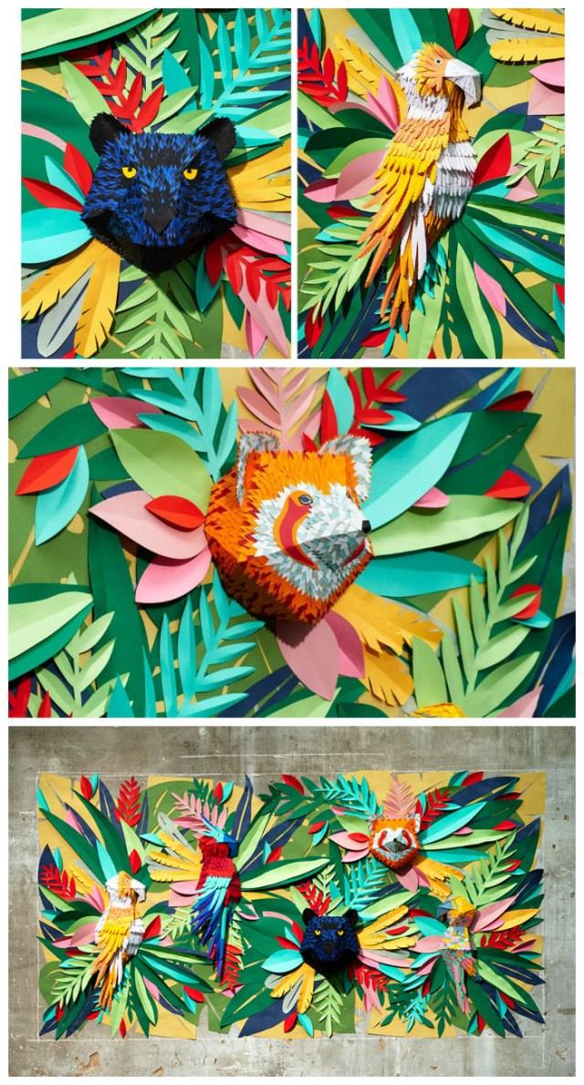 Tendance Tropical Art - Mlle Hipolyte