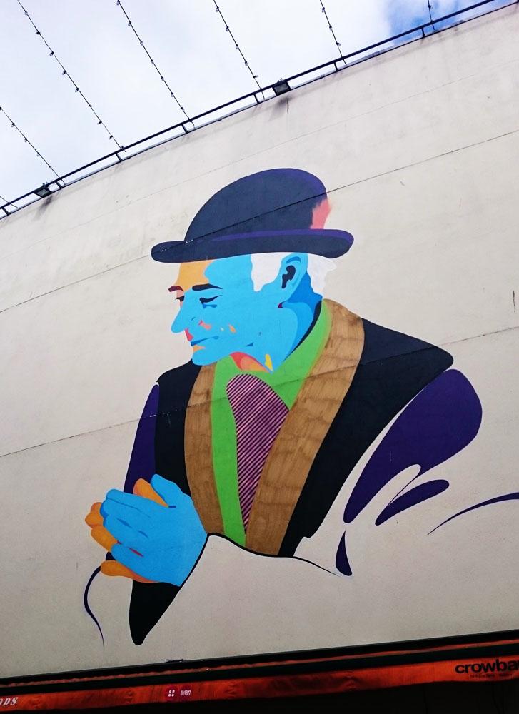 Street art - Visiter Dublin
