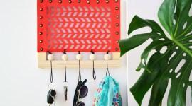 Réaliser un accroche-clés mural en cuir / DIY
