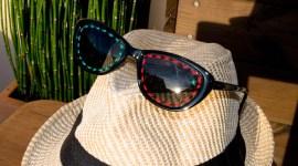 Broder des lunettes de soleil / DIY