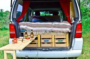 Road-trip en van : réaliser un aménagement amovible