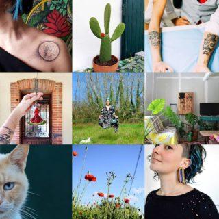 """Le traditionnel #bestnine (les photos que vous avez préféré cette année) : un peu de tutos créatifs et de chats, un soupçon de cactus et de tatouage, beaucoup de travaux et de méditation.  Cela représente parfaitement mon année 2020... qui se finit dans les inondations, à écoper le tour de cette maison inachevée.  """"La vie, ce n'est pas d'attendre que l'orage passe, c'est apprendre à danser sous la pluie"""" selon Sénèque... Je pense que c'est la leçon que j'ai le mieux assimilé en 2020.  La pluie est bien là, dansons maintenant 😁"""