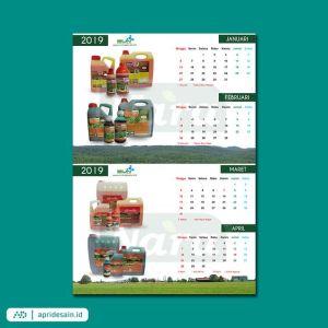 jasa desain kalender bekasi murah