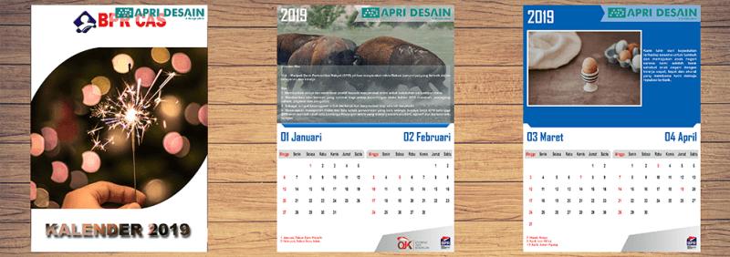 jasa desain kalender 2020 murah