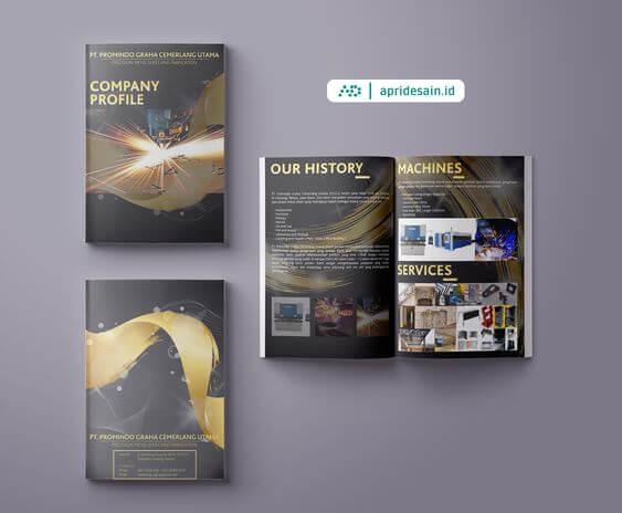 jasa desain company profile industri
