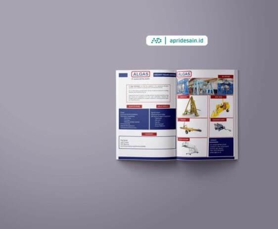 jasa desain company profile pabrik
