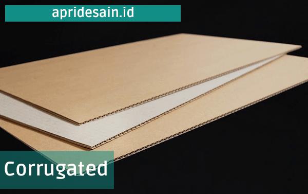 kertas corrugated paper