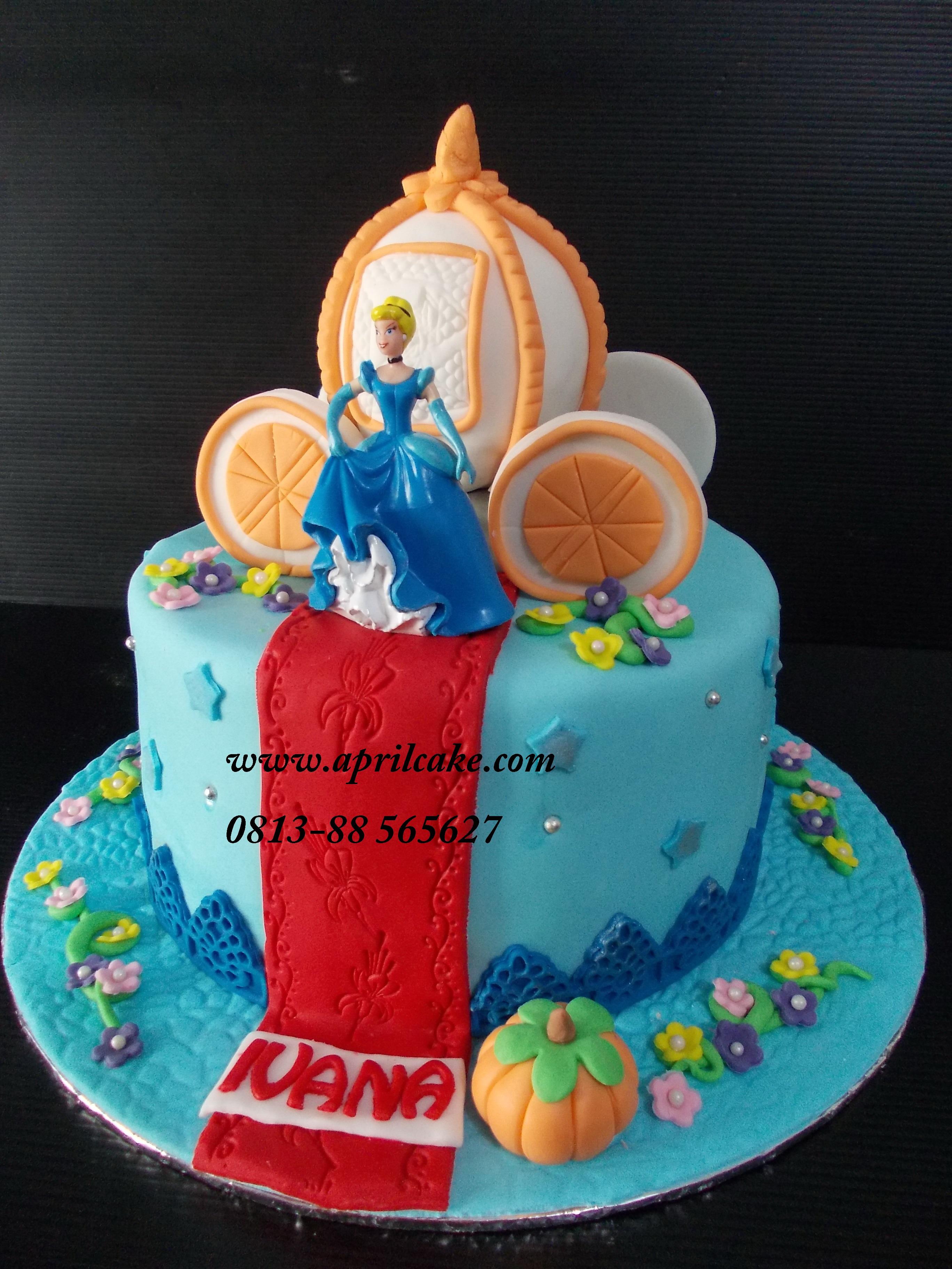 Cinderella Twins Cake April Cake