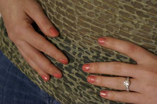 aprilgolightly glitter nails