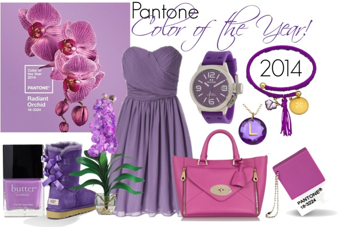 How to Wear Radiant Orchid