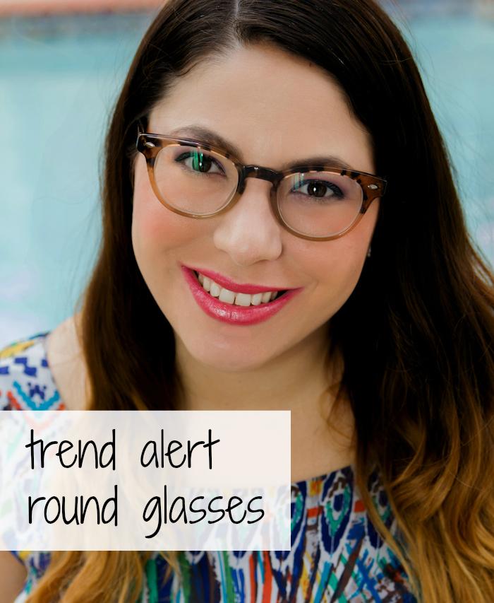 Trend Alert round glasses Ozealglasses.com #aprilgolightly